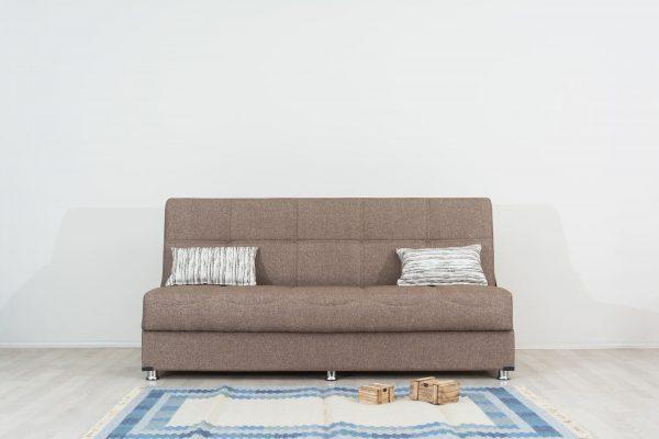 Диван-кровать с ящиком для белья модель Томер