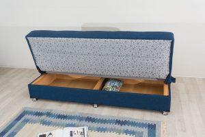 Диван-кровать с ящиком для белья модель Томер-1
