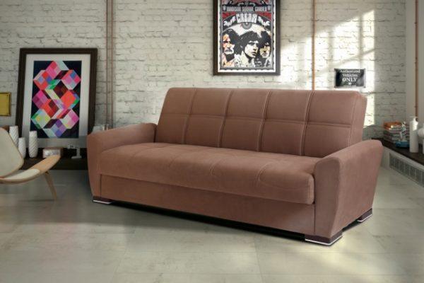 Раскладной диван с ящиком для белья модель Мона