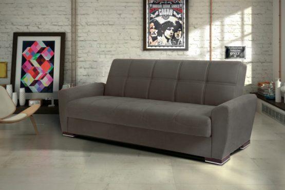 ספה נפתחת למיטה עם ארגז מצעים דגם Mona