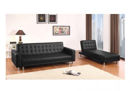 ספה פינתית לסלון MONTI-BLACK