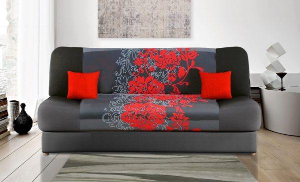 ספה נפתחת למיטה עם ארגז מצעים דגם JESS-W