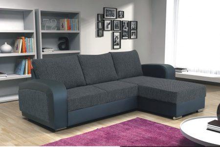 ספה פינתית נפתחת למיטה זוגית דגם EXCLUSIVE