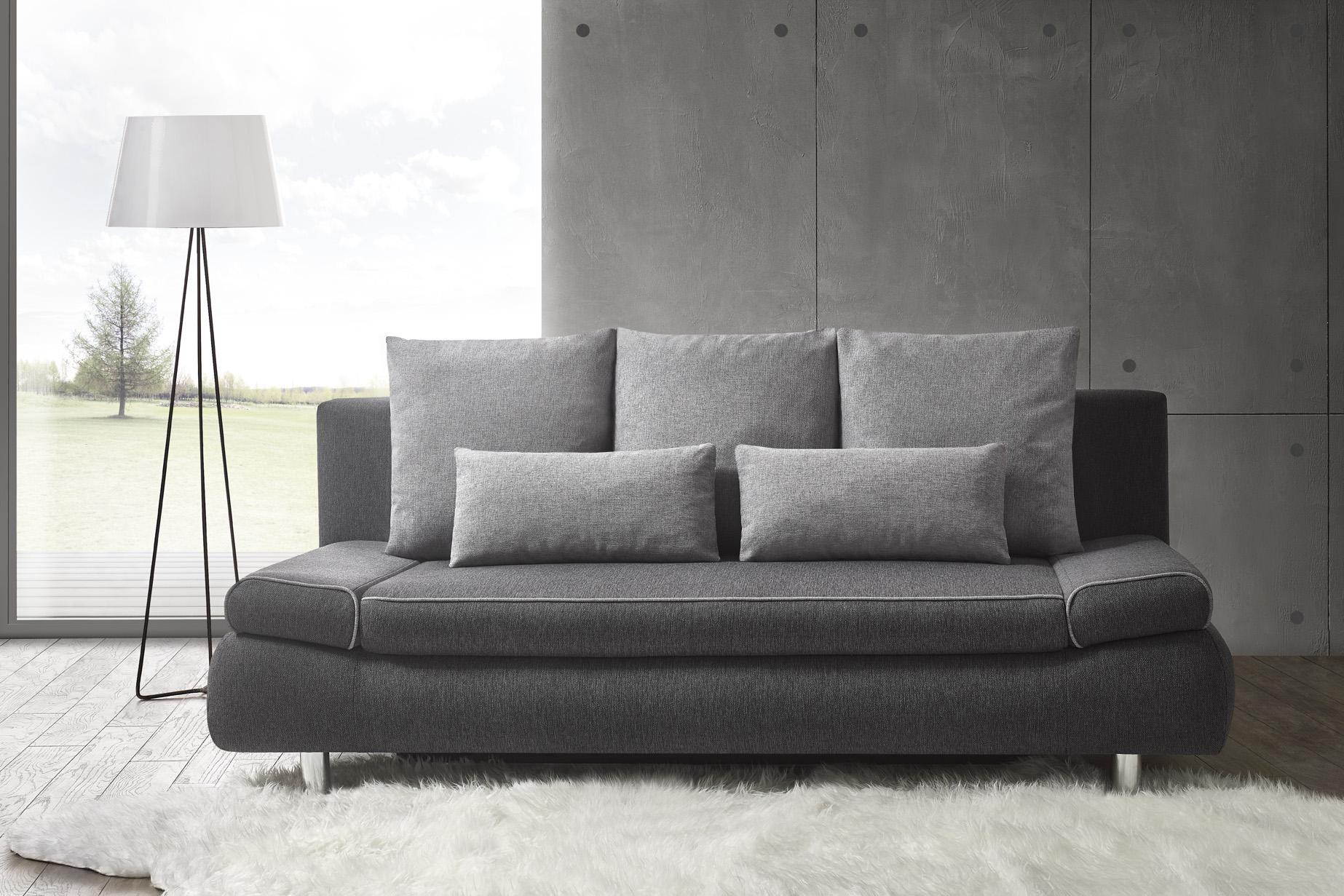 Большой раскладной диван с двуспальной кроватью модель Таня
