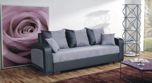ספה נפתחת למיטה זוגית דגם ZAZA