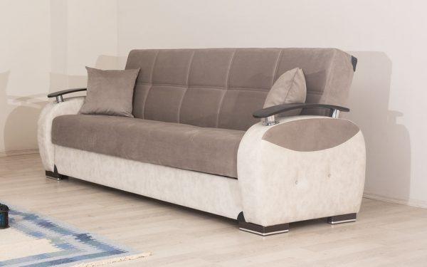 Диван-кровать с ящиком для белья модель Мона плюс