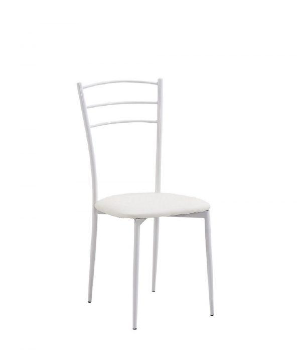 כסא למטבח לבן דגם-101