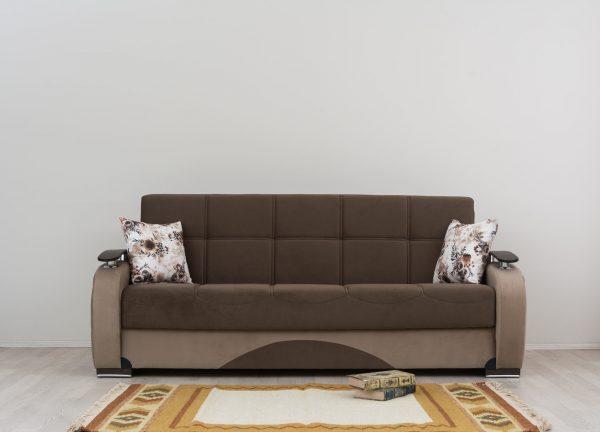 Диван-кровать с ящиком для белья модель МОНАКО