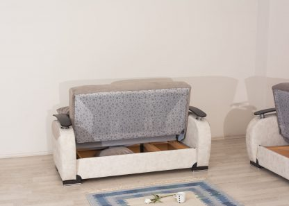 Салон 3+2 раскладной с ящиками для белья модель LEON