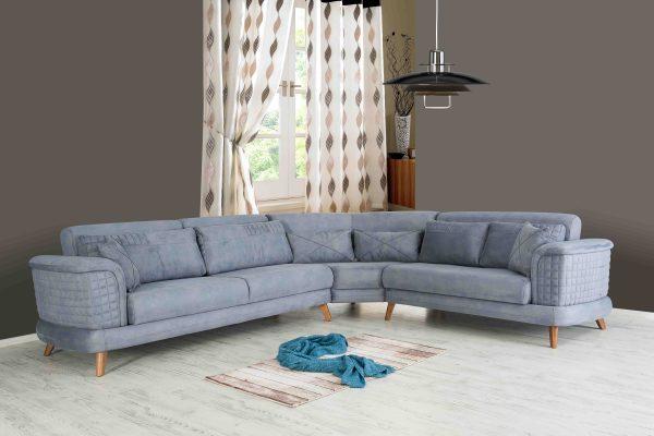 Большой угловой диван модель LONDON