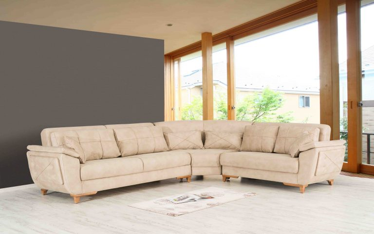 Большой угловой диван модель Sirena