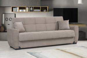 ספה נפתחת למיטה דגם Mona בד בז'