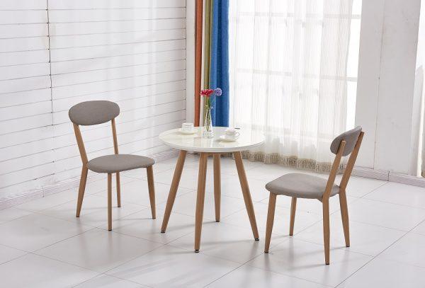 Круглый столик с двумя стульями модель MAOR