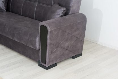 מערכת ישיבה מעוצבת 3+2 דגם OSCAR נפתחת למיטה