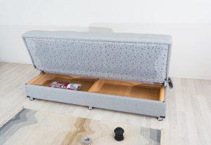 ספת אירוח עם ארגז מצעים דגם Tomer