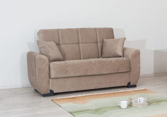 ספה דו-מושבית עם ארגז מצעים דגם MONA-2