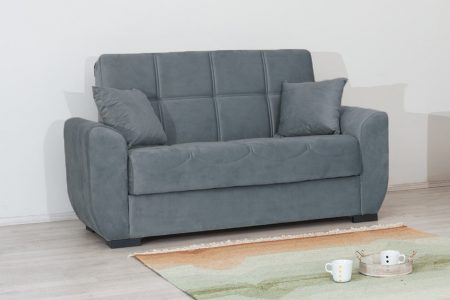 ספה דו-מושבית עם ארגז מצעים דגם MIMI