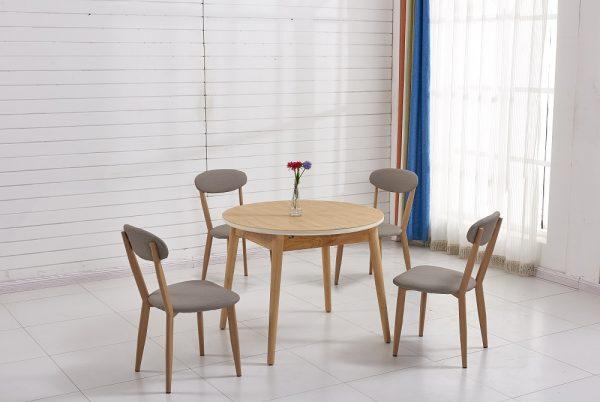 Круглый обеденный стол модель АМИТ