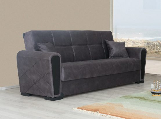 Диван-кровать с ящиком для белья модель МAKO