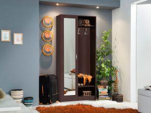 ארון לחדר כניסה WANDA-ונגה כולל מראה גדולה