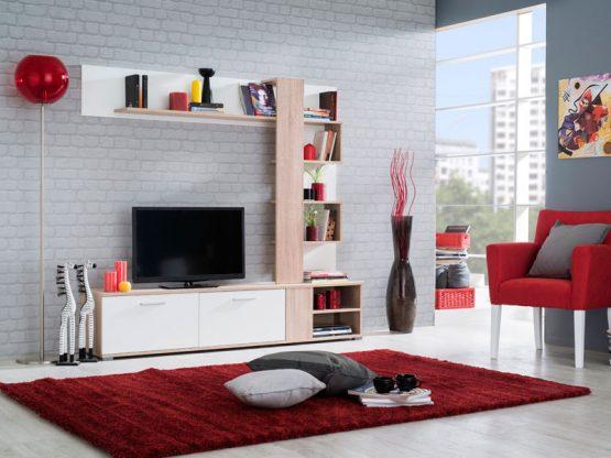 Современная стенка для гостиной модель ARGUS