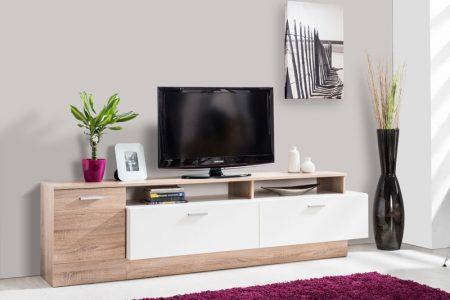 שידת טלוויזיה לסלון דגם ORLI כולל מגרות אחסון