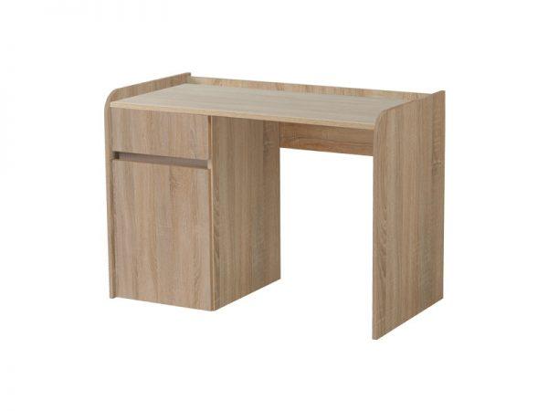 שולחן מחשב לבן דגם BOSS כולל מגירות אחסון