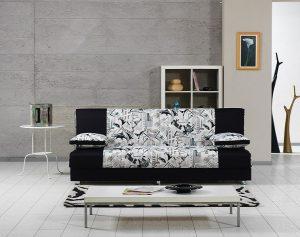 ספה 3 מושבים בעיצוב צעיר ורענן דגם BLACK CITY
