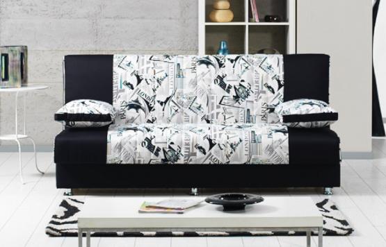 ספה תלת מושבית מעוצבת דגם BLACK CITY