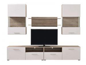 מזנון יוקרתי לסלון דגם LADA-לבן בעיצוב מודרני חדשני