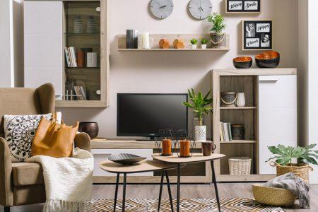 מזנון טלוויזיה מודרני לסלון LONDON
