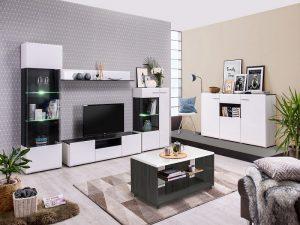 מזנון מודרני + ויטרינה לסלון TRIPOLI