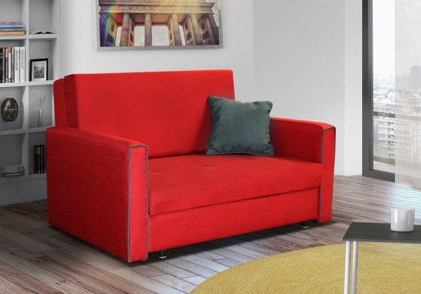 ספה דו-מושבית נפתחת למיטה דגם VITA-RED