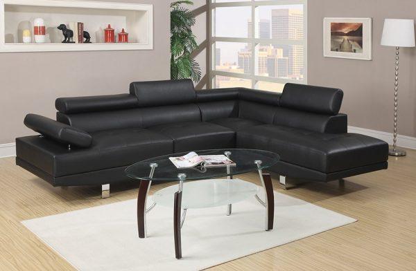 кожаный угловой диван марк черный угловые диванымебель Taburet