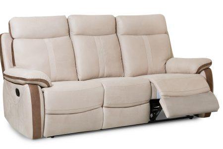 ספה מפוארת עם ריקליינרים דגם PALERMO