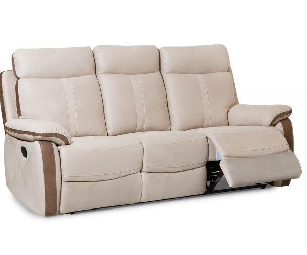 Роскошный диван с реклайнерами модель PALERMO