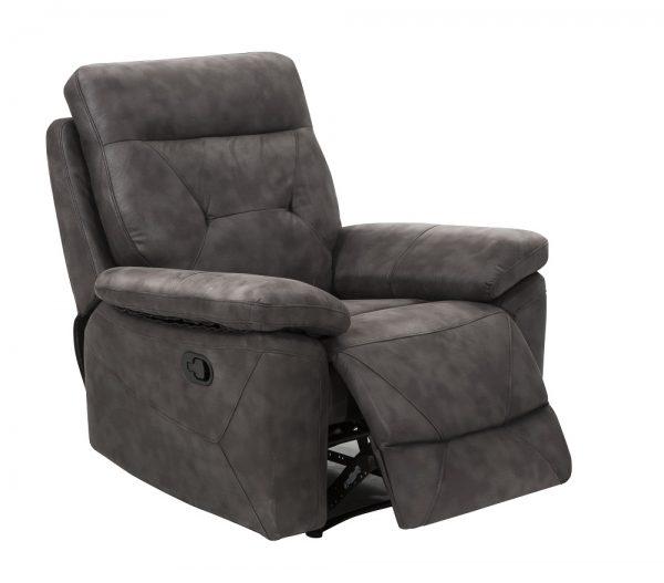 Кресло телевизионное с реклайнером модель MARS-GRAY