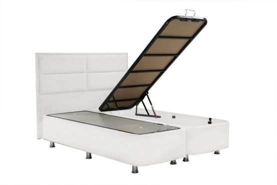 Кровать двухспальная с ящиками для хранения OSTIN