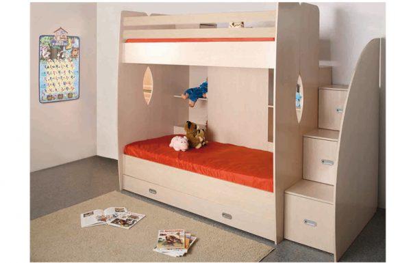 מיטה קומותיים מעוצבת ALLEN