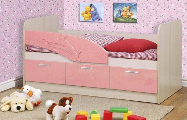 מיטה מעוצבת לילדים DOLPHIN