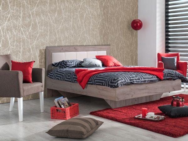 מיטה זוגית מעוצבת DIANA