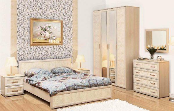 חדר שינה קומפלט DORIN-CREAM