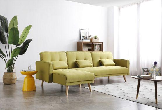 Универсальный угловой диван MARIA-GREEN