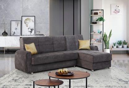 Раскладной угловой диван модель LEO