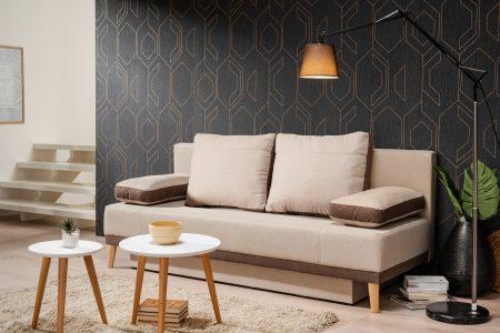 ספה נפתחת למיטה זוגית דגם CAMERON