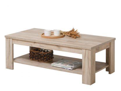 שולחן סלון מעץ טבעי דגם 512