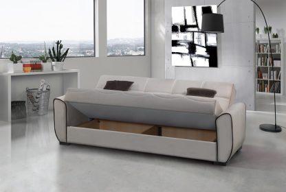 ספה מעוצבת נפתחת למיטה דגם DANKO-BEIGE