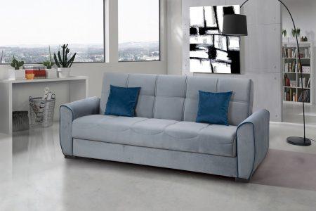 ספה נפתחת עם ארגז מצעים דגם DANKO-GRAY
