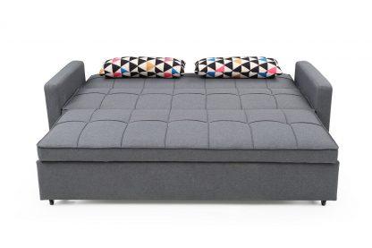 ספה נפתחת למיטה זוגית גדולה דגם AMOS-GRAY