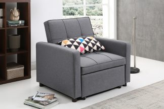 כורסא נפתחת למיטה דגם DALIA-GRAY
